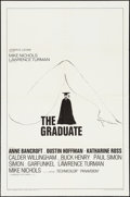 "Movie Posters:Comedy, The Graduate (Embassy, 1968). One Sheet (27"" X 41"") Style B.Comedy.. ..."