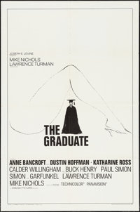 "The Graduate (Embassy, 1968). One Sheet (27"" X 41"") Style B. Comedy"