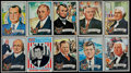 Non-Sport Cards:Sets, 1972 Topps Presidents Complete Set (43) Plus Poster Set (15) WithWrapper. ...