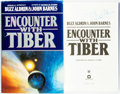 Books:Science Fiction & Fantasy, Buzz Aldrin and John Barnes. SIGNED BY ALDRIN. Encounter with Tiber. [New York]: Warner Books, [1996]. Third printin...