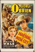 """Movie Posters:Western, The Marshal of Mesa City (RKO, 1939). One Sheet (27"""" X 41""""). Western.. ..."""
