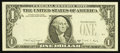 Error Notes:Missing Third Printing, Fr. 1915 $1 1988A Federal Reserve Note. Crisp Uncirculated.. ...