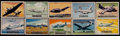 Non-Sport Cards:Sets, 1952 Topps Wings Near Set (198/200). ...