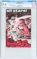 Silver Age (1956-1969):Alternative/Underground, All Stars #1 (Gary Arlington/Golden Gate, 1965) CGC NM+ 9.6 Whitepages....