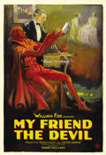 "Movie Posters:Drama, My Friend the Devil (Fox, 1922). One Sheet (27"" X 41""). ..."