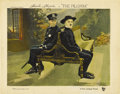 "Movie Posters:Comedy, The Pilgrim (First National, 1923). Lobby Card (11"" X 14""). ..."