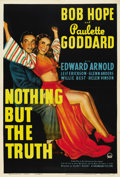 "Movie Posters:Comedy, Nothing But the Truth (Paramount, 1941). One Sheet (27"" X 41""). ..."