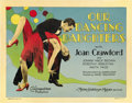 "Movie Posters:Drama, Our Dancing Daughters (MGM, 1928). Title Lobby Card (11"" X 14"")...."