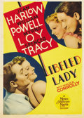 "Movie Posters:Comedy, Libeled Lady (MGM, 1936). Midget Window Card (8"" X 11""). ..."