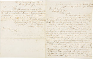 Featured item image of 'TERMS OF SURRENDER' LETTERS SIGNED BY CONFEDERATE GENERAL ROBERT E. LEE....