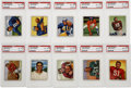 Football Cards:Sets, 1950 Bowman Football Complete Set (144). The first color footballset. These cards were issued to the collecting public in s...