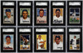 Baseball Cards:Sets, 1951 Bowman Baseball Near Set (322/324). Offered is a near set of 1951 Bowman 322/324 cards (missing #253 Mantle and #305 Ma...