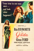 """Movie Posters:Film Noir, Gilda (Columbia, 1946). One Sheet (27"""" X 41"""") Style A.. ..."""
