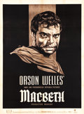 "Movie Posters:Drama, Macbeth (Republic, 1948). French Grande (45.5"" X 62.5"").. ..."