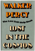 Books:Social Sciences, Walker Percy. SIGNED. Lost in the Cosmos. The Last SelfHelp Book. New York: Farrar, Straus & Giroux, 1983. Stat...