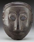 Tribal Art, Mask, Arunachal Pradesh, India. Monpa Peoples...