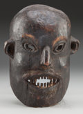 Tribal Art, Mask, Central Nepal. Possibly Tamang People...