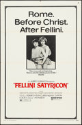 """Movie Posters:Foreign, Fellini Satyricon (United Artists, 1969). One Sheet (27"""" X 41""""). Foreign.. ..."""