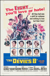 """The Devil's 8 & Other Lot (American International, 1969). One Sheets (2) (27"""" X 41""""). Thriller. ... (Total..."""