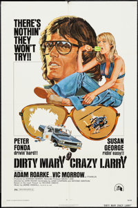 """Dirty Mary Crazy Larry & Others Lot (20th Century Fox, 1974). One Sheets (3) (27"""" X 41""""). Drama. ... (..."""