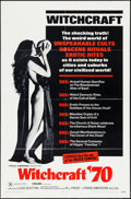 """Movie Posters:Exploitation, Witchcraft '70 & Others Lot (Trans American, 1970). One Sheets(3) (27"""" X 41""""). Exploitation.. ... (Total: 3 Items)"""