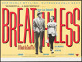"""Movie Posters:Foreign, Breathless (RRC, R-2010). British Quad (30"""" X 40""""). Foreign.. ..."""