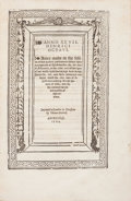 Books:World History, [Laws]. Henry VIII, King of England. Anno XXVII. Henrici Octavi.Actes made in the session of this present parliament ho...
