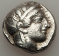 Ancients:Greek, Ancients: ATTICA. Athens. Ca. 454-404 BC. AR tetradrachm (17.12gm)....
