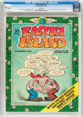 Bronze Age (1970-1979):Alternative/Underground, Earth Island #1 (Earth Island, Inc., 1970) CGC NM+ 9.6 White pages....