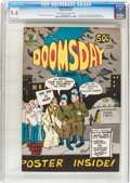 Bronze Age (1970-1979):Alternative/Underground, Doomsday Comics #1 (Black Cat Publishing, 1973) CGC NM 9.4 Off-white to white pages....