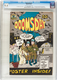 Doomsday Comics #1 (Black Cat Publishing, 1973) CGC NM 9.4 Off-white to white pages