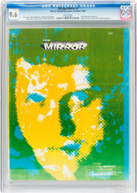 Chicago Mirror V1#3 (Mirror Publishing Empire, 1968) CGC NM+ 9.6 White pages