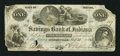 Obsoletes By State:Indiana, Connersville, IN- Savings Bank of Indiana $1 Aug. 23, 1854 G2a. ...