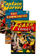 Golden Age (1938-1955):Miscellaneous, Golden Age Miscellaneous Comics Group of 4 (Various Publishers, 1940s).... (Total: 4 Comic Books)