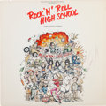 "Music Memorabilia:Autographs and Signed Items, The Ramones - A Signed Album ""Rock 'N' Roll High School,"" 1979...."