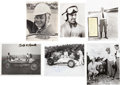 Miscellaneous Collectibles:General, 1910's-2010's Indianapolis 500 Driver Signed Photographs Lot of175....