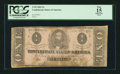 Confederate Notes:1862 Issues, T55 $1 1862 PF-9 Cr. 400.. ...