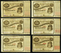 Obsoletes By State:Louisiana, (Baton Rouge), LA- State of Louisiana $5 (11) ND Cr. 29 (7); Cr. 30A (4) circa 1870's. ... (Total: 11 notes)