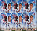 Baseball Collectibles:Photos, Ryan Howard and Stan Musial Multi Signed Oversized Photographs Lot 6....