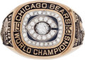"Football Collectibles:Others, 1985 Chicago Bears Super Bowl XX Championship Ring Presented to William ""Refrigerator"" Perry...."