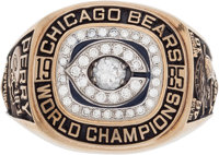 "1985 Chicago Bears Super Bowl XX Championship Ring Presented to William ""Refrigerator"" Perry"