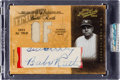 Baseball Cards:Singles (1970-Now), 2004 Playoff Prime Cuts Babe Ruth Signed Jersey Card 1/1. ...