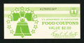 Miscellaneous:Other, Food Coupon Full $2 Booklet Series 1976.. ...