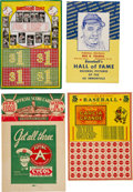 Baseball Collectibles:Others, Circa 1930's Baseball Game Boards, Premiums, and PromotionalMaterial (10). ...
