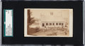 Baseball Cards:Singles (Pre-1930), Circa 1860's French & Sawyer CDV with Early Baseball GameScene. ...