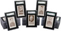 Hockey Cards:Sets, 1923-24 V145-1 Patterson Hockey Graded Complete Set (40) - With Extremely Rare Bert Corbeau! ...