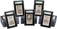 1923-24 V145-1 Patterson Hockey Graded Complete Set (40) - With Extremely Rare Bert Corbeau!