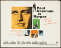"Movie Posters:Crime, Harper (Warner Brothers, 1966). Half Sheet (22"" X 28""). Crime.. ..."