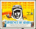 "Movie Posters:Academy Award Winners, Lawrence of Arabia (Columbia, 1962). Half Sheet (22"" X 28"") AcademyAwards Style D. War.. ..."