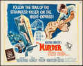 """Movie Posters:Mystery, Murder She Said (MGM, 1961). Half Sheet (22"""" X 28""""). Mystery.. ..."""